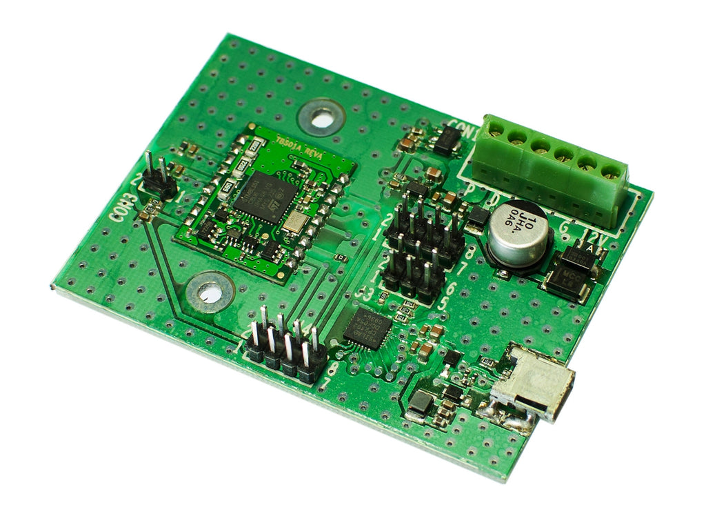 UART to SDI-12 Interface Master Module Evaluation Board TBS01AEval