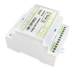 4+1 Channel 24 Bit Analog to SDI-12 Converter Din Rail TBSAB02-DR