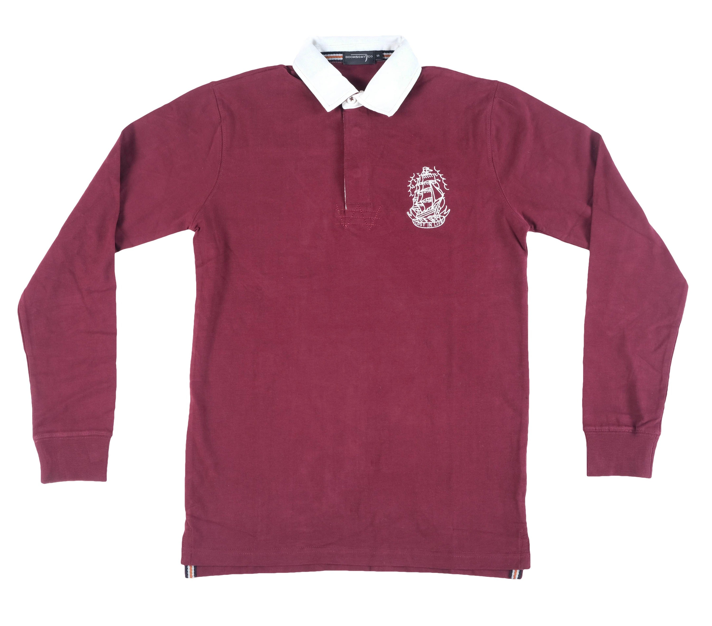 Ship Rugby Jersey - BURGUNDY