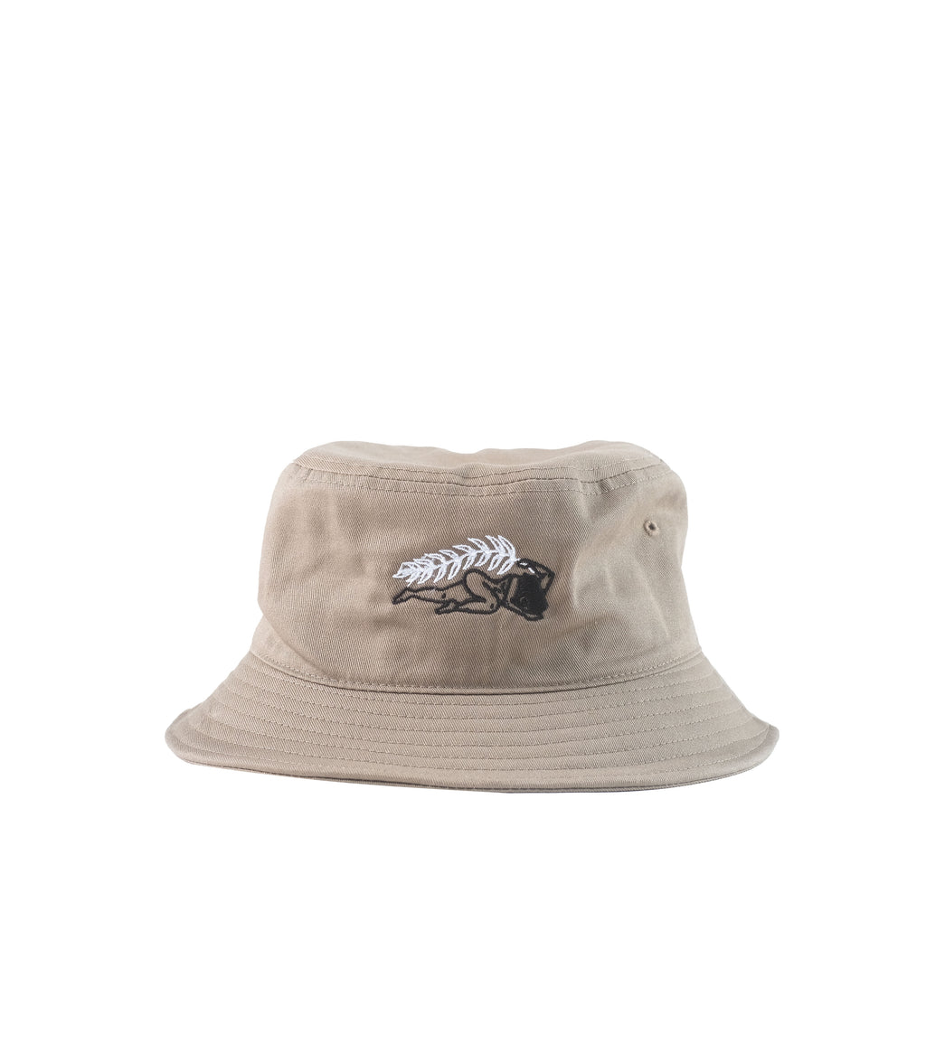 Wreath Bucket Hat Coffee