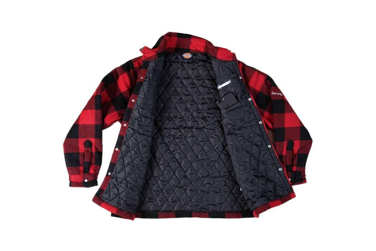 Quilted Jacket - Red