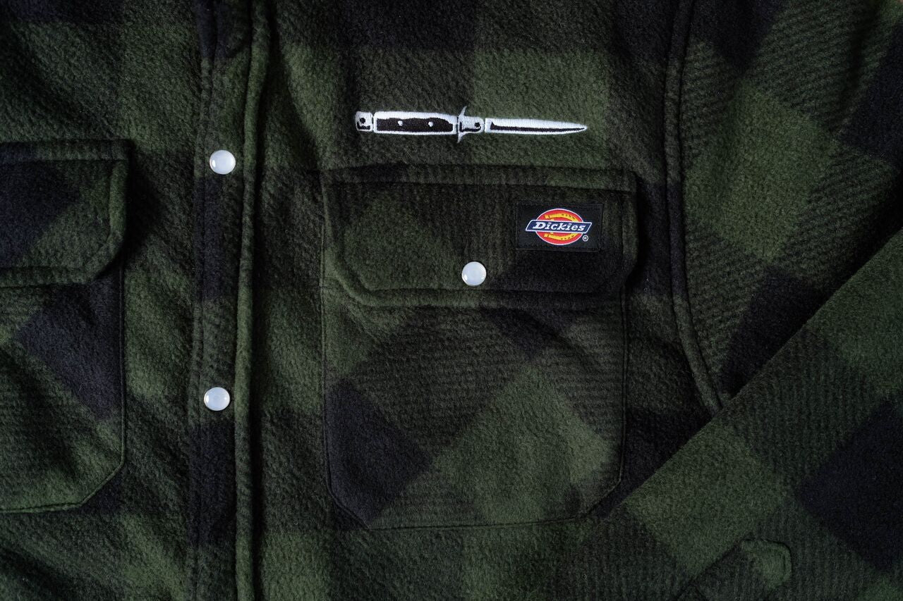 Quilted Jacket - Green