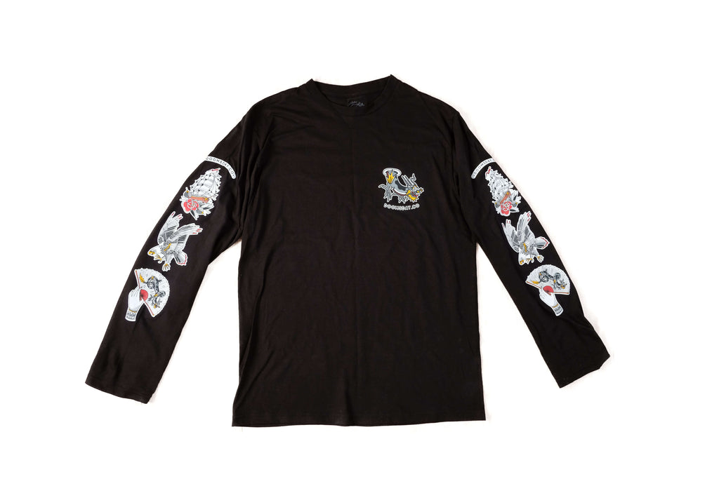 Stacked Long Sleeve - Black