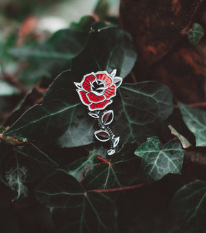 Red Rose - Pin