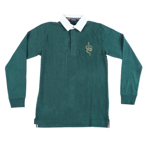 Snake Rugby Jersey - BOTTLE GREEN