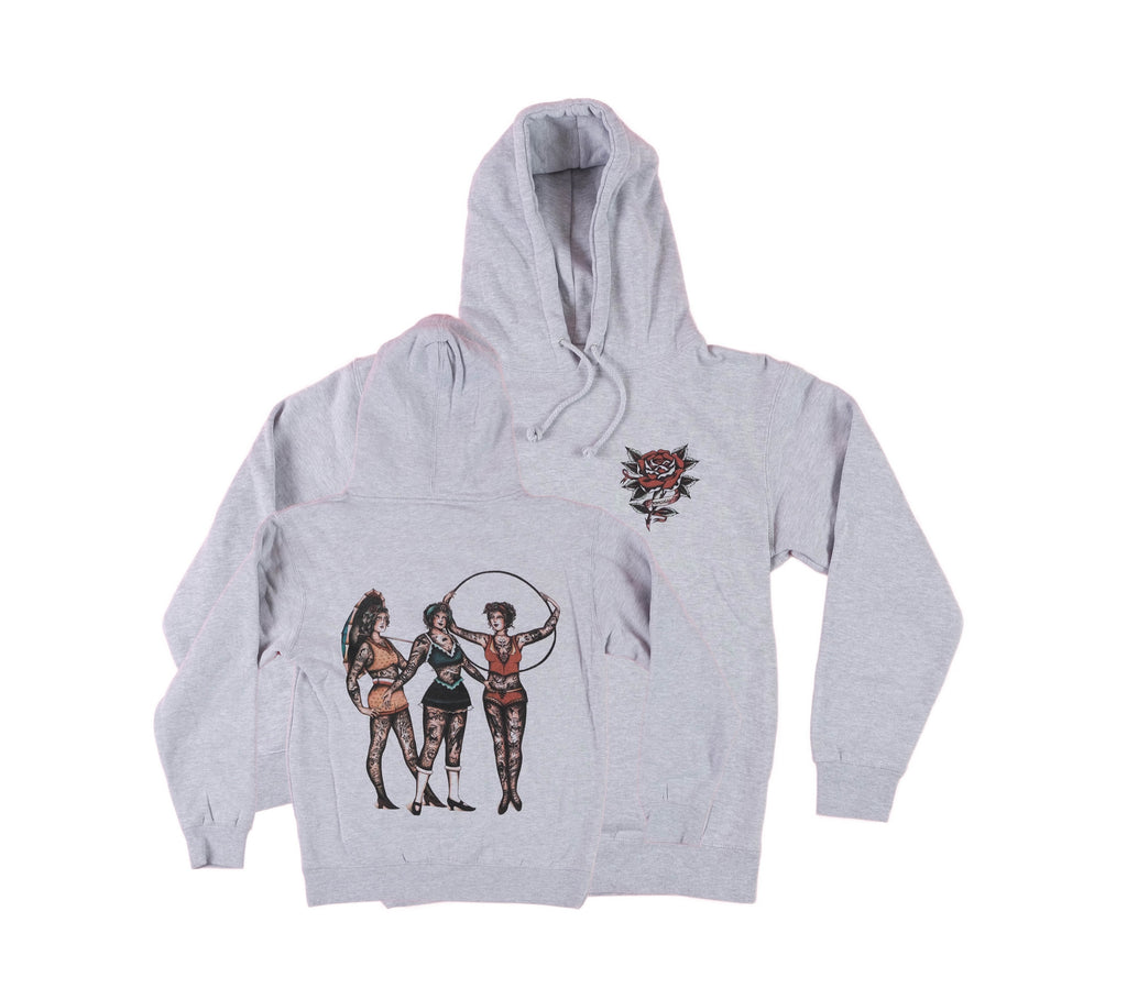 NEW heavy weight Circus Ladies Hoodie