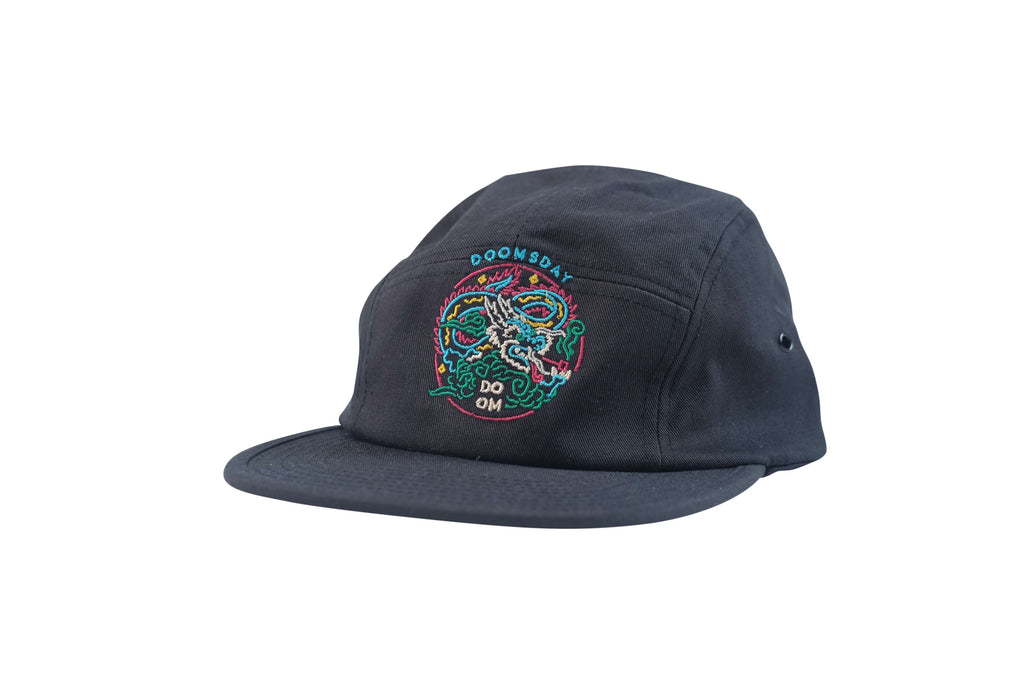 Neon Dragon - Black 5 Panel