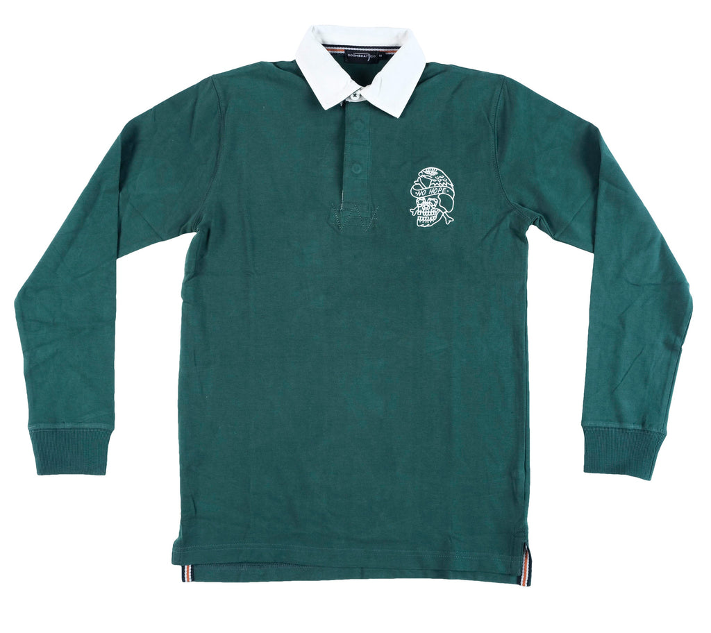 No Hope Rugby Jersey - BOTTLE GREEN