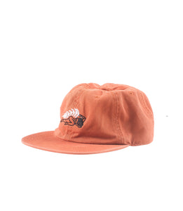 Wreath Rust 6 Panel Hat