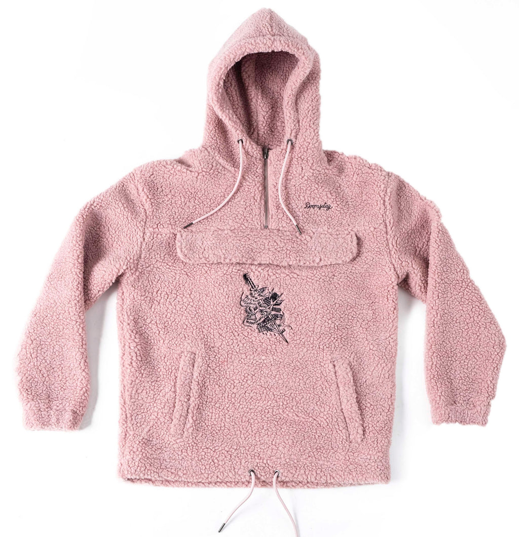 Dagger Sherpa Fleece - ROSE