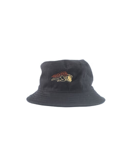 Wreath Bucket Hat Black