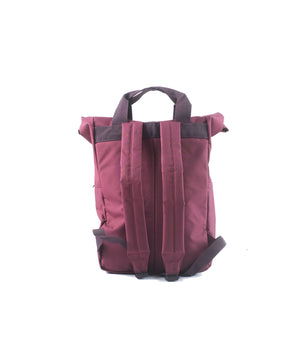 Wreath Backpack Burgundy