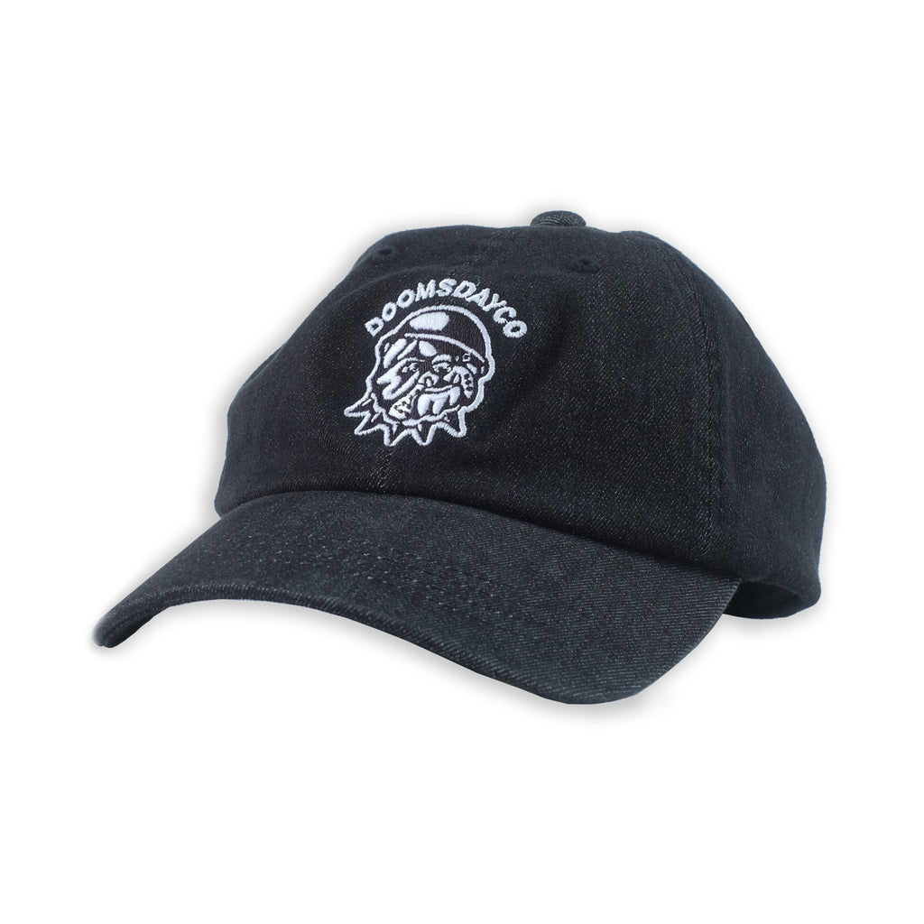 DENIM BULLDOG DAD CAP