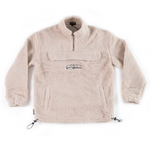 Dishonour 1/4 Zip Sherpa Fleece