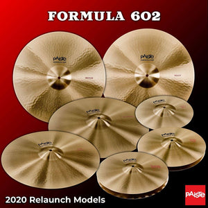 PAISTE FORMULA 602 - 2020 RELAUNCH MODELS - WINTER NAMM 2020 PREVIEW