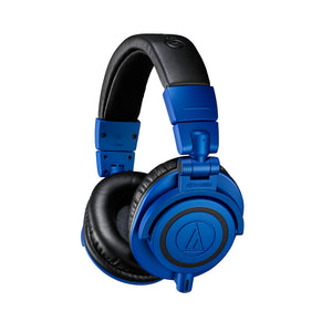 AUDIO TECHNICA ATH-M50XBB PROFESSIONAL MONITOR HEADPHONES (SPECIAL EDITION BLACK AND BLUE)