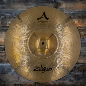 "ZILDJIAN 21"" AVEDIS A MEGA BELL RIDE CYMBAL, BRILLIANT FINISH (PRE-LOVED)"