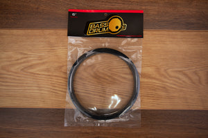 "BASS DRUM O'S 6"" BLACK BASS DRUM PORTAL"