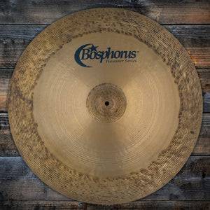 "BOSPHORUS 24"" HAMMER SERIES JEFF HAMILTON CHINA CYMBAL (PRE-LOVED)"