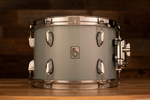 BRITISH DRUM COMPANY 12 X 8 LEGEND SERIES TOM, SKYE BLUE EXO-TONE (INCLUDES TOM HOLDER)