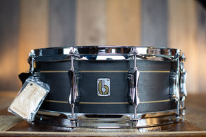 BRITISH DRUM COMPANY 14 X 5.5 MERLIN 20 PLY MAPLE / BIRCH SNARE DRUM