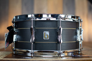 BRITISH DRUM COMPANY 14 X 6.5 MERLIN 20 PLY MAPLE / BIRCH SNARE DRUM