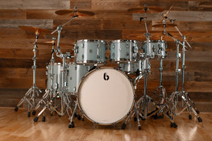 BRITISH DRUM COMPANY (BDC) LEGEND 6 PIECE DRUM KIT, SKYE BLUE
