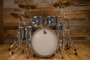 BRITISH DRUM COMPANY LEGEND SERIES SPECIAL EDITION 5 PIECE DRUM KIT, EXECUTIVE FINISH