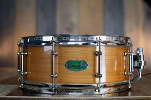 CRAVIOTTO LAKE SUPERIOR TIMELESS TIMBER 14 X 5.5 SOLID BIRCH SNARE DRUM NO.42 OF 100
