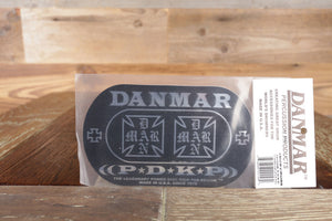 DANMAR IRON CROSS POWER DISC KICK PAD