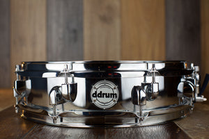 DDRUM MODERN TONE 14 X 3.5 PICCOLO SNARE DRUM, STEEL SHELL (PRE-LOVED)