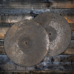 "DREAM 14"" DARK MATTER HI-HAT CYMBALS (PRE-LOVED)"