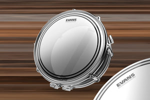 "EVANS EC SNARE BATTER DRUM HEAD (SIZES 10"" TO 14"")"