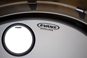 "EVANS EMAD COATED BASS BATTER DRUM HEAD (SIZES 18"" TO 26"")"