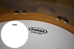 "EVANS G2 COATED BASS BATTER DRUM HEAD (SIZES 20"" TO 22"")"