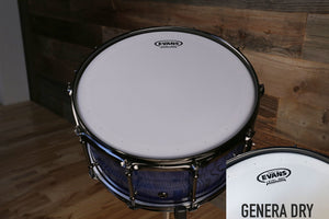 "EVANS GENERA DRY SNARE BATTER DRUM HEAD (SIZES 12"" TO 14"")"