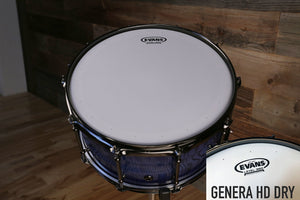 "EVANS GENERA HD DRY SNARE BATTER DRUM HEAD (SIZES 12"" TO 14"")"