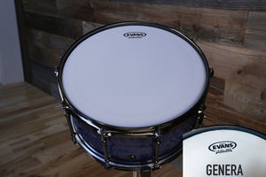 "EVANS GENERA SNARE BATTER DRUM HEAD (SIZES 13"" AND 14"")"