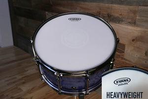 "EVANS HEAVYWEIGHT SNARE BATTER DRUM HEAD (SIZES 12"" TO 14"")"