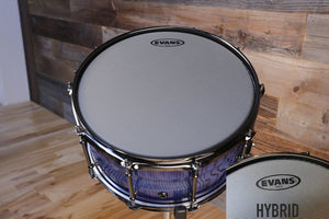 "EVANS HYBRID COATED SNARE BATTER DRUM HEAD (SIZES 13"" TO 14"")"