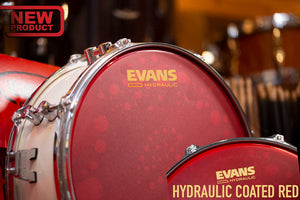"EVANS 14"" HYDRAULIC RED UV COATED SNARE DRUM HEAD"