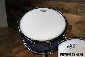 "EVANS POWER CENTER SNARE BATTER DRUM HEAD (SIZES 13"" TO 14"")"