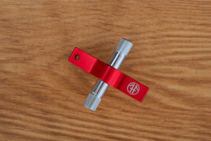 FIREFLY GEARLESS RATCHET DRUM KEY, RED, LIGHTING FAST!