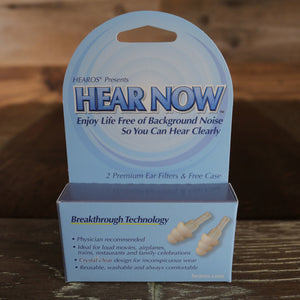HEAROS 'HEAR NOW' EAR DEFENDERS/FILTERS