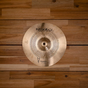 "ISTANBUL AGOP 10"" TRADITIONAL SERIES TRASH HIT CYMBAL"