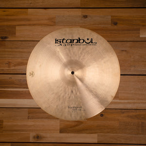 "ISTANBUL AGOP 16"" TRADITIONAL SERIES PAPER THIN CRASH CYMBAL"