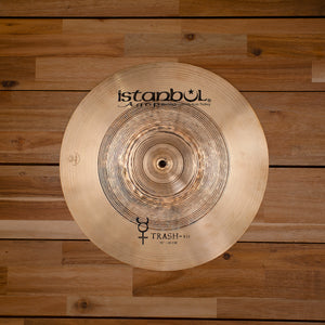 "ISTANBUL AGOP 16"" TRADITIONAL SERIES TRASH HIT CYMBAL"