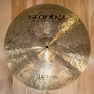 ISTANBUL AGOP 20 SPECIAL EDITION JAZZ RIDE CYMBAL (PRE-LOVED)