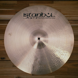 "ISTANBUL AGOP 20"" STERLING SIGNATURE SERIES CRASH RIDE CYMBAL"