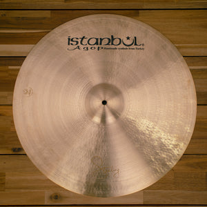 "ISTANBUL AGOP 22"" STERLING SIGNATURE SERIES CRASH RIDE CYMBAL"